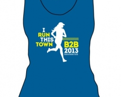 Run This Town (Blue Ladies Tank)